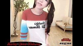 http://Harley-Quinn-Nude.com Super Hot Asian Harley Quinn on Webcam