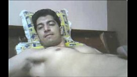 Indian guy cums while...