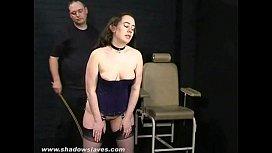 Amateur spanking and cruel...