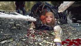 Blonde Angel captured, dominated...