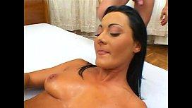 Sandra Romain double anal...