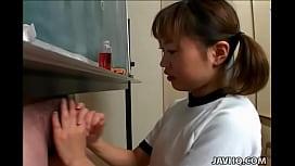 Japanese cutie Itsuki Wakana...