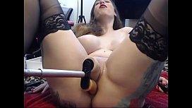 Stockings girl gets railed...