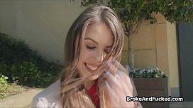 Crazy hot brunette loves...