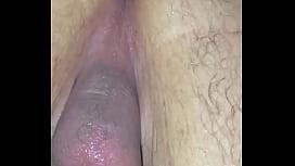 My dildo going up my ass