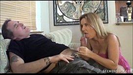 Two Blondes Suck A Boner alina li anal
