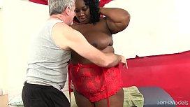 Big bellied black girl...