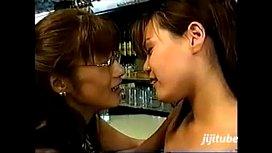 Japanese Lesbian Kiss...