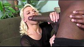 Blonde Gets Hammered by Black Man's  ...