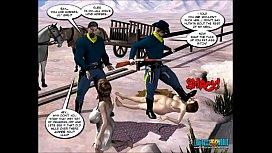 3D Comic: Six Gun...