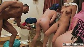 Mature anal orgy hd...