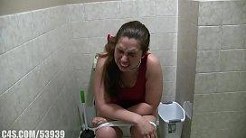 Girl with diarrhea...