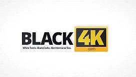 BLACK4K. Huge cock of black guy has to be deep inside white vagina
