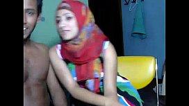 Sexy Desi couple webcam...