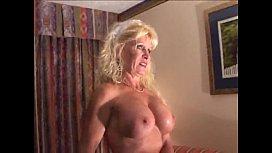 Busty Mature Blonde Bitch...