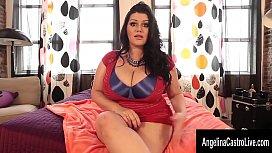 Angelina Castro Sucks Cock...