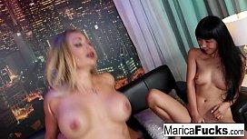 Marica Hase Hot Threesome...