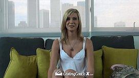 CASTINGCOUCH-X Amateur blonde...