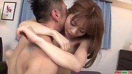 Busty Anri Sonozaki enjoys...