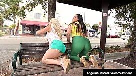 Latina BBW Angelina Castro...