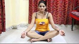 Shruti Bhabhi Hot Yoga Workout