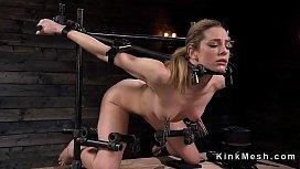 Slave in device bondage...