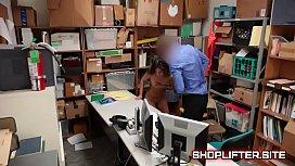 Shoplifter Shane Blair Jizz...