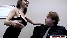 Slut wife sucks husbands...