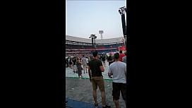 LIFADsub Flashing at Rammstein...