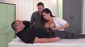 Big Titty Asian Nurse...
