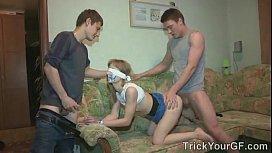 Blindfolded fun...