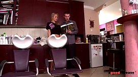 Hairstylist and girlfriend Fuck...