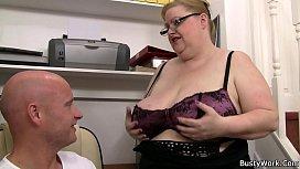 Big tits woman in...