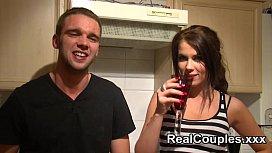 Real couple fucking girlfriends...
