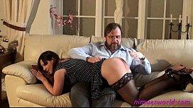 Jenna Jays otk spanking...