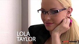 Nympho secretary Lola Taylor...
