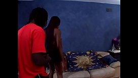 African bitch Ebony Barbie is feelin ...