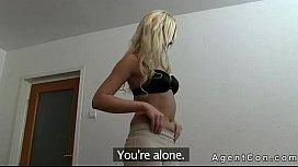 Nice ass blonde fucking...
