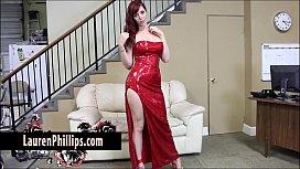 Big Tit redhead Lauren...