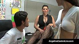 Cuban Teacher Angelina Castro...