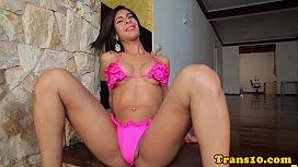 Solo latina trans beauty...