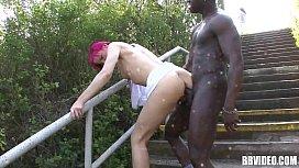 Pink haired german slut...