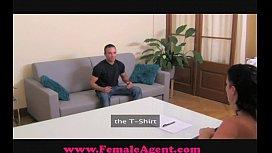 FemaleAgent Shy hunk is...