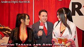 Hitomi Tanaka with Anri...