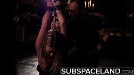 Hardcore BDSM spanking teen...