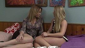 Angela Sommers seducing AJ...