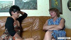 Two mature german sluts sharing cock in threesome shelley hennig porn