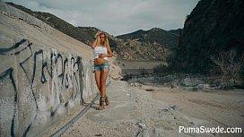 European Blonde Puma Swede...