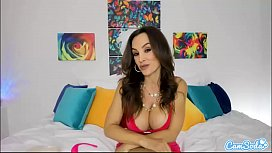 Camsoda - MILF Lisa Ann Anal and Pussy Play