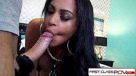 FirstClassPOV - Kimberly Kendall sucking...
